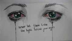 The Light Behind Your Eyes - My Chemical Romance inspired.