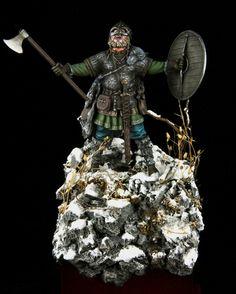 Scandinavian warrior by Stanislav Kurylenko · Putty&Paint