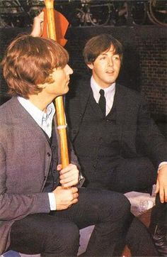 John Lennon and Paul McCartney (Bing Images!)