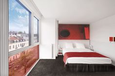 Pantone Hotel Room