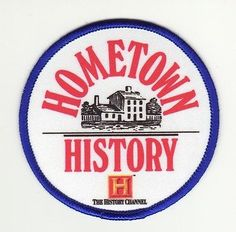 Girl Scout Patch - Hometown History