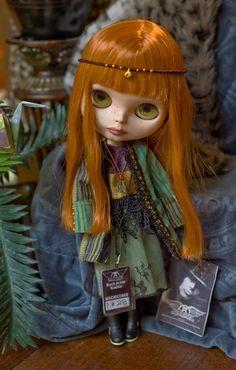Exotic Bohemian Coat and Dress Set Striped by SugarMountainArt