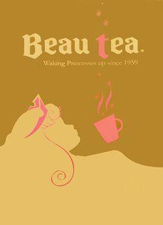 beau tea via the disney princess