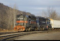 RailPictures.Net Photo: MEC 377 Maine Central GP40 at Rotterdam Junction, New York by Charles Miner