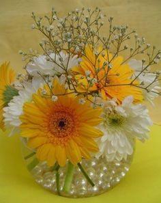 Centros de Mesa para Bodas #Arreglosfloralesparamesa #Adornosflorales