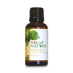 Via Nature Essential Oil 100% Pure Patchouli (1x1 fl Oz)