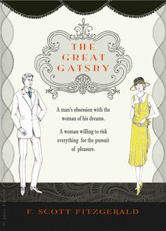 The Great Gatsby | Book Cover Redesign by June Parrish Cookson, via Behance