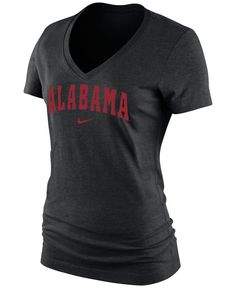 Nike Women's Short-Sleeve Alabama Crimson Tide V Arch T-Shirt