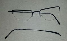 Rimless Glasses Broken : Before/After Pictures of Repaired Eyeglasses and ...