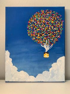 Disney Canvas Paintings, Disney Canvas Art, Cute Paintings, Easy Acrylic Paintings, Simple Paintings On Canvas, Small Paintings, Easy Canvas Art, Small Canvas Art, Mini Canvas Art