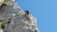 Klettern auf der Waidringer Steinplatte... Bergen, Wellness, Water, Outdoor, Stone Panels, Climbing, Stones, Summer Recipes, Water Water