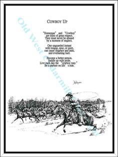 Old Cowboy Poems