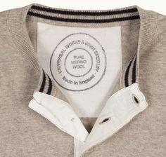 John Smedley X Universal Works- the best of luxury British menswear.