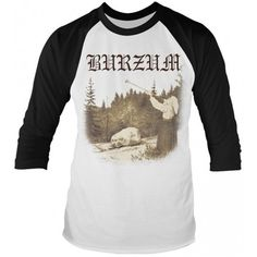 Officially licensed merch from Burzum Filosofem Baseball Jersey available at Rockabilia Fashion Slogans, Celebrity Film, Urban Hip Hop, Trip Hop, Psychedelic Rock, Comedy Films, Baseball Jerseys, Front Design, Band Tees