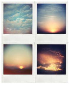 Ciels et Polaroids
