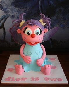 Abby Cadabby Cake ~ adorable!
