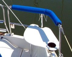 SternPerch sailboat seat pads and boat rail cushions manufactured by Zarcor
