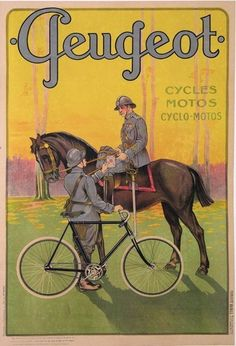 CYCLES MOTOS PEUGEOT (CIRCA 1920)