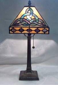Celtic Trinity Lamp -- Tiffany Style