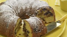 One really delicious and really unhealthy Sunday coffee cake. I have no idea where I got this recipe from but it was about thirty years ago and has been a family favorite since. The bake time is a bit longer if you're using frozen berries.