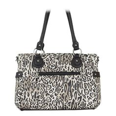 The Back side of the Heather Grace Adele #Bag has zipped pocket for your phone or keys! Your Price: $80.00 This classic style features structure and simplicity—a great daily bag.  Customize your bag with a detachable strap, #Clutch and clip-ons.