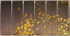 Chinese Element, Chinese Art, Chinese Interior, Deco Paint, Japanese Screen, Japan Art, Panel, Chinoiserie, Wall Design