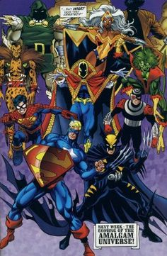 DC vs Marvel Amalgam Comics