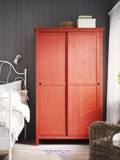 The HEMNES wardrobe - for hats to heels, and everything in between.