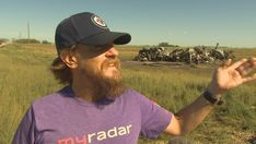 """Storm chaser recounts 'monster' twister that killed 2, injured 1 close to Virden, Man., A storm chaser describes being near the twister that touched down close to Virden, Man., on Friday night as an """"eerie calm"""" earlier than the destructi...,  #News Canada National Parks, Distracted Driving, Mont Real, Weather Change, Meteorology, Tornadoes, Interesting News, Jeep Grand"""