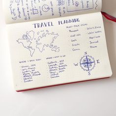 Image result for travel bullet journal