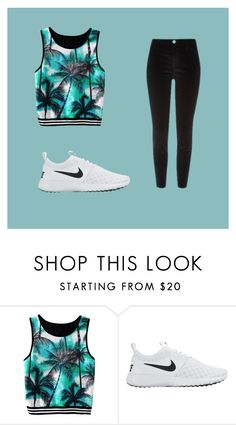 """""""Summer's almost over!"""" by erinmaries ❤ liked on Polyvore featuring NIKE"""