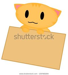 Find Cute Ginger Cat Holding Sign Board stock images in HD and millions of other royalty-free stock photos, illustrations and vectors in the Shutterstock collection. Thousands of new, high-quality pictures added every day. Cute Ginger, Ginger Cats, Bright Pink, Cat Lovers, Pikachu, Royalty Free Stock Photos, Sign, Board, Illustration