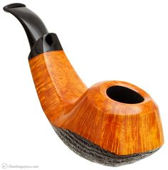 Tsuge Ikebana Partially Sandblasted Volcano (F) Pipes at Smoking Pipes .com