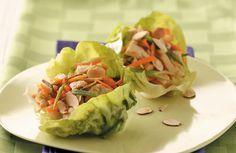 healthy dinner - Teriyaki Chicken Lettuce Wraps