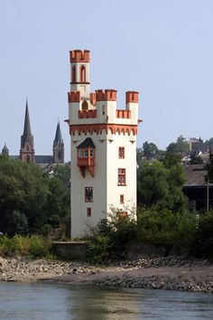 Rhine River Castle, Germany