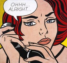 roy-linchenstein-ohh-alright... guess its prize in auction (linked post) #POPART