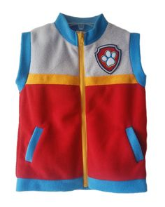 ADULT Paw Patrol inspired Ryder Costume Vests