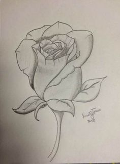 What is Your Painting Style? How do you find your own painting style? What is your painting style? Is there a way to make sure you have it? Flower Sketches, Art Drawings Sketches Simple, Pencil Art Drawings, Cool Drawings, Tattoo Drawings, Rose Sketch, Drawing Ideas, Drawing Flowers, Tattoos