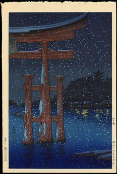 Koitsu, Tsuchiya (1870-1949) - Miyajima - 宮島