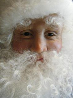 Victorian Santa ~ Love the eyes :