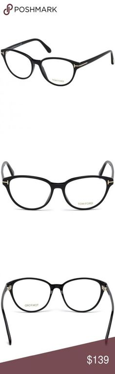 50b47a3248 64+ trendy glasses frames tom ford black