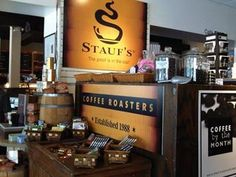 Staufs Coffee Roasters-Grandview  1277 grandview ave 43212 614-486-4861Awesomeness here!!!!