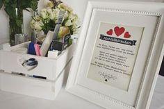 Das Notfallkörbchen für die Hochzeitsgäste Bild 1