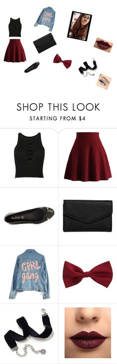 """""""BFF's look💯💯🔥🔥"""" by summerbueaty ❤ liked on Polyvore featuring Chicwish, ALDO, LULUS, High Heels Suicide, New Look, Sweet Romance and LASplash"""