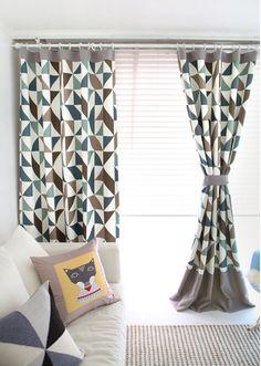Scandinavian Modern Blackout Curtains Designer by MyHomeStylist