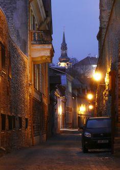 The Streets of Tallinn, Estonia