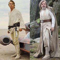 Luke Skywalker: from farmer to Master Jedi Mark Hamill Luke Skywalker, Star Wars Luke Skywalker, Anakin Skywalker, Star Wars Art, Star Trek, Saga, Divas, Cinema, Star Wars Wallpaper
