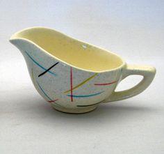 Hycroft Creamer w/ Jack Straw Pattern (1955)
