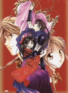 Fushigi Yuugi Genbu Kaiden's Uruki and Takiko