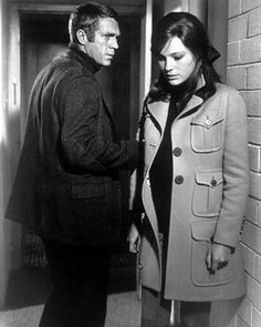 Steve Mcqueen & Jacqueline Bisset in Bullit (dir. Peter Yates,1968)